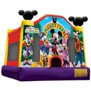 Licensed Micky fun house 13x13