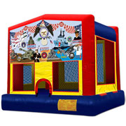 U.S. Military Moonbounce