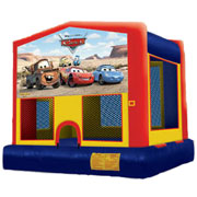 Disney Cars Moonbounce