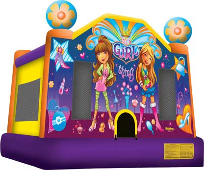 Party Rental | Girl Bounce